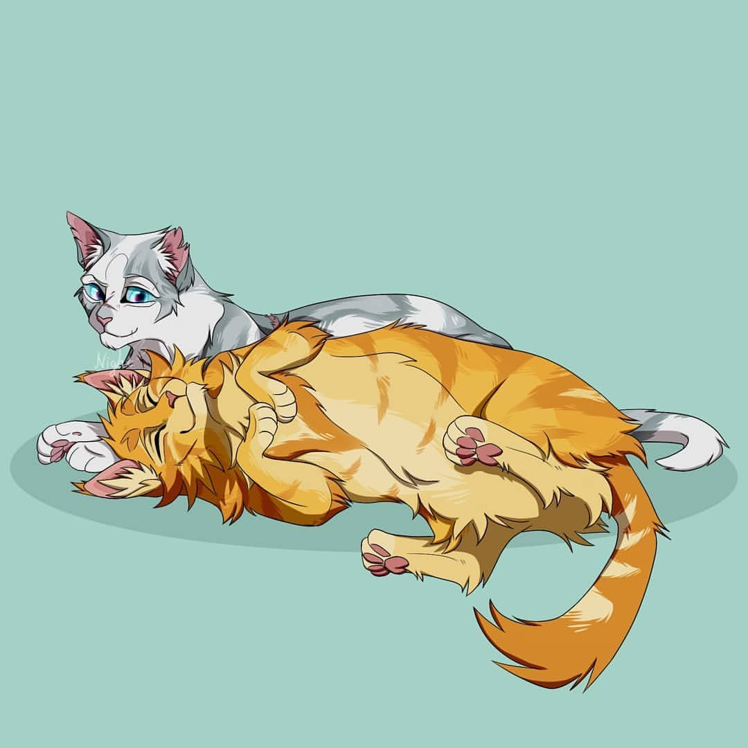 Relation-ship 09 Okay, it's been a long time. I got distracted by too many  things....yep,definitely not jus…   Warrior cats fan art, Warrior cats,  Warrior cat memes