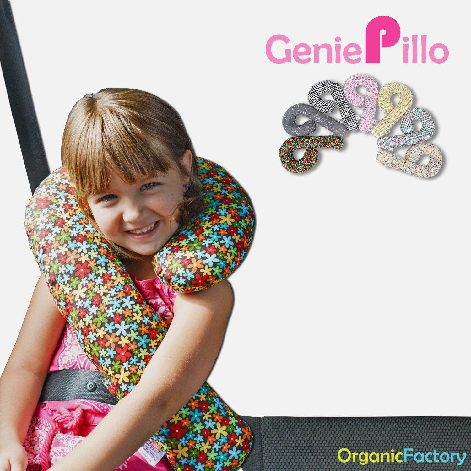 Genie Pillo Lite seat belt Pillow baby