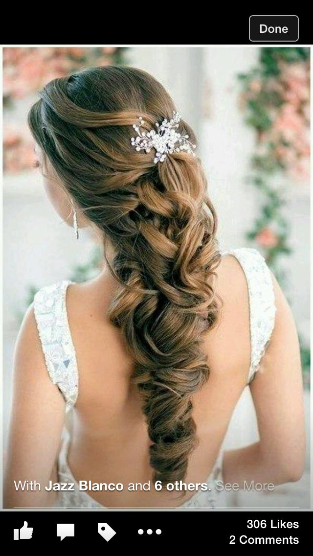 Pin de Mia Jimenez en hair styles Peinados de novia
