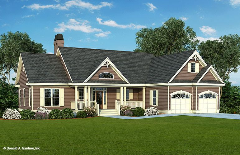 Home Plan The Griffin By Donald A Gardner Architects Country Style House Plans Craftsman Style House Plans Craftsman House Plans