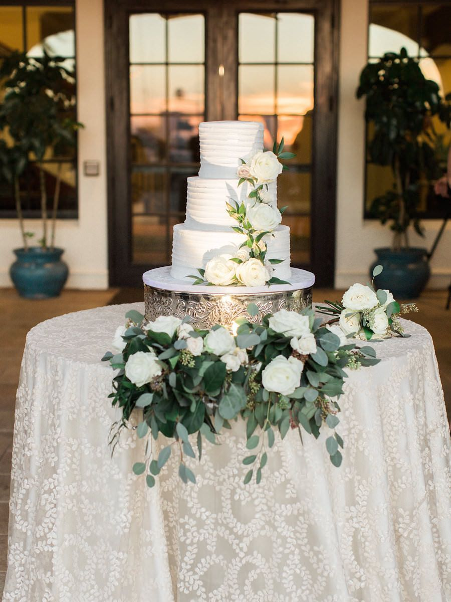 Blue and ivory organic outdoor south tampa wedding