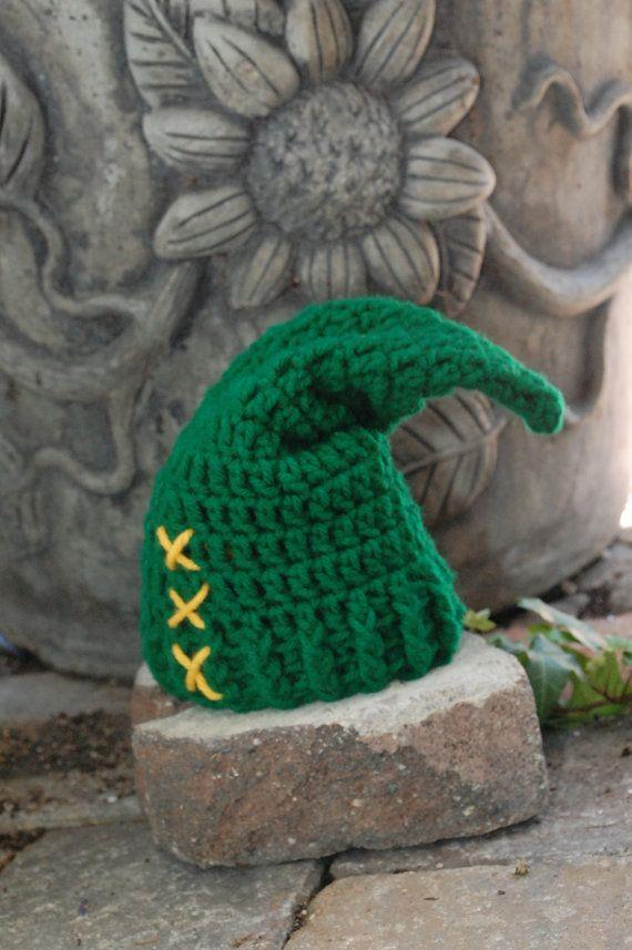 Legend of zelda newborn link hat! https://www.etsy.com/listing ...
