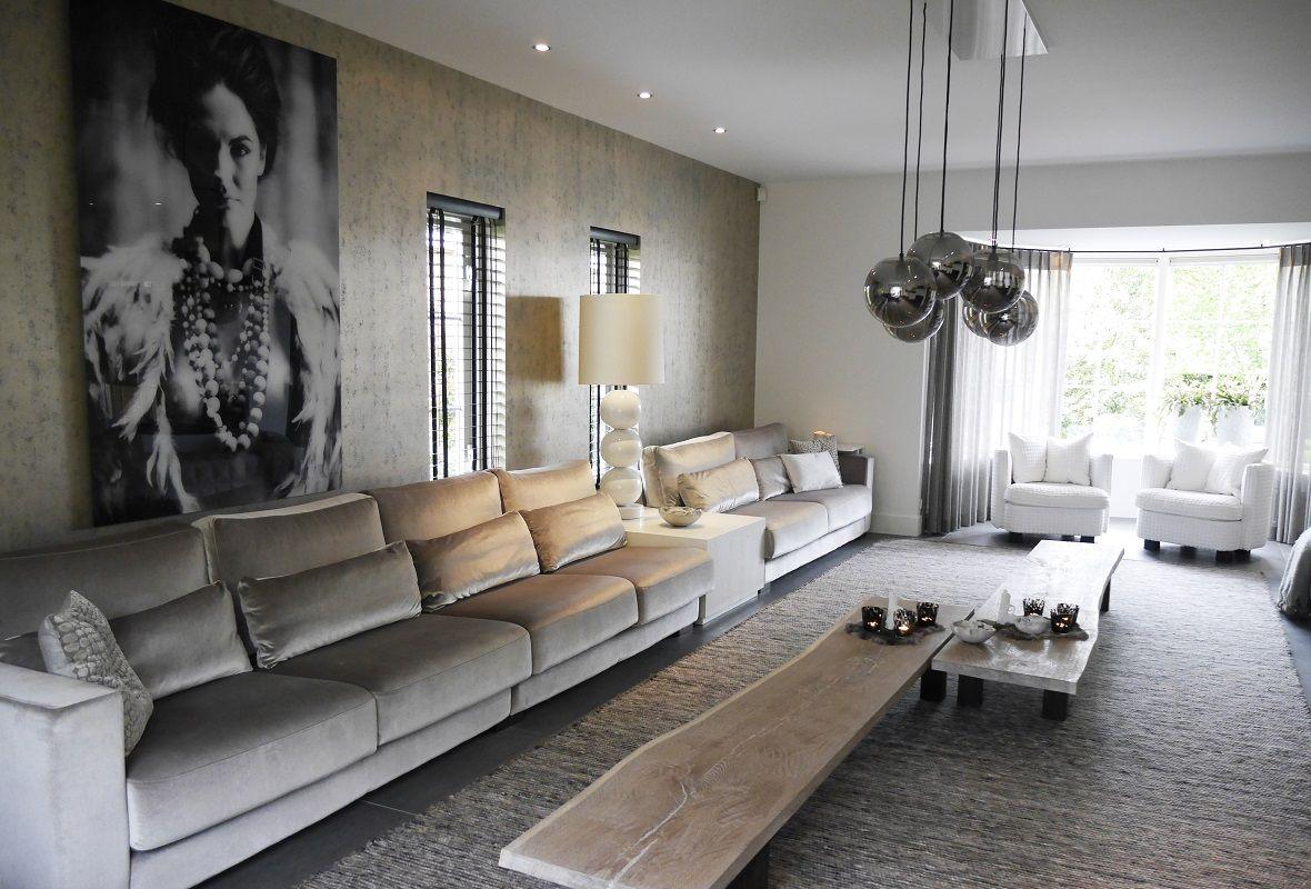 Gezellig Ingerichte Woonkamer : Modern ingerichte woonkamer interieur woning inspiratie pinterest