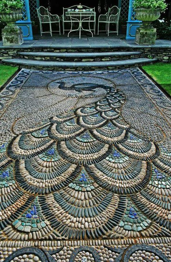 Steingarten Aus Mosaik In Chelsie | Projects | Pinterest