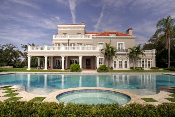 Perry Snell S Waterfront Mansion Considered As One Of The Most Beautiful Homes In Florida