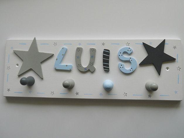 Garderoben Garderobe Mit Sterne Und Namen Ein Designerstuck