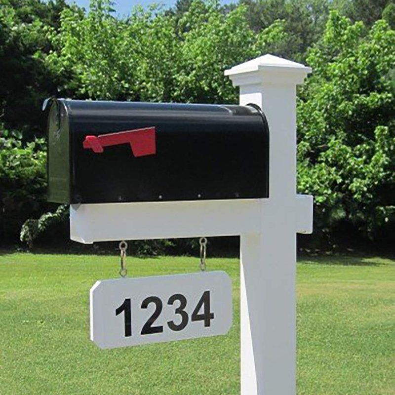 Mailbox With Post Included Metal Mailbox Mailbox Post Mailbox