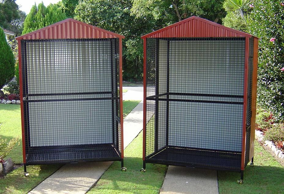 DIY Bird Aviary Plans Beautiful Birdcages Bird aviary