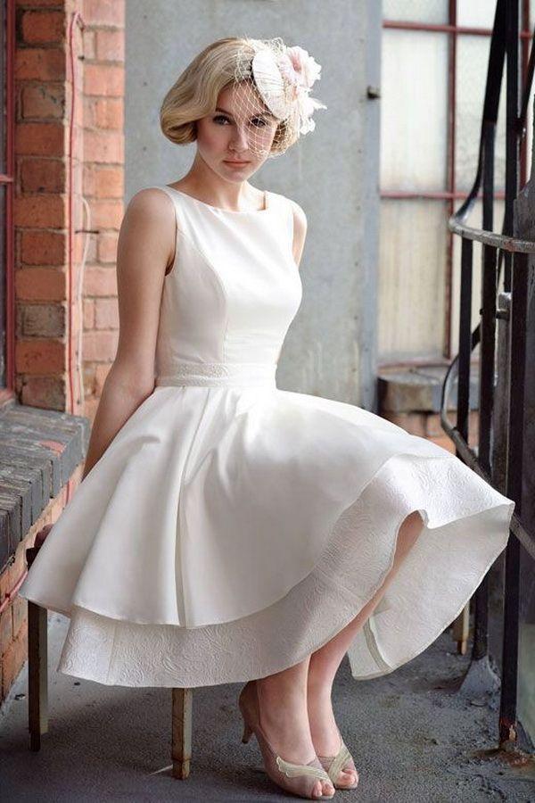 78 Best images about Short Wedding Dresses on Pinterest  Wedding ...