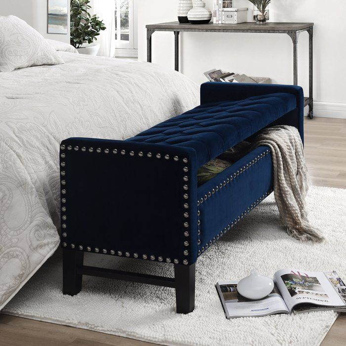 Amazing Tess Upholstered Storage Bench Furniture In 2019 Caraccident5 Cool Chair Designs And Ideas Caraccident5Info