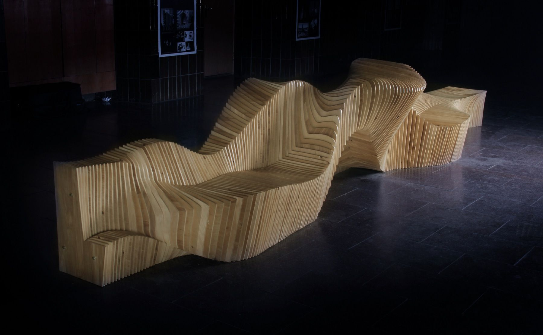Multifunctional Bench Kyiv National University Arch2o Com Sculptural Furniture Installation Architecture Design Multifunctional