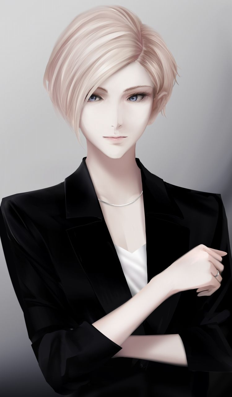 Pin by Phatoo on Women Art  Girl short hair, Tomboy art, Anime