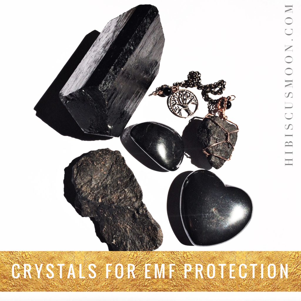 Crystals for EMF Protection ~ electromagnetic frequency, lodestone