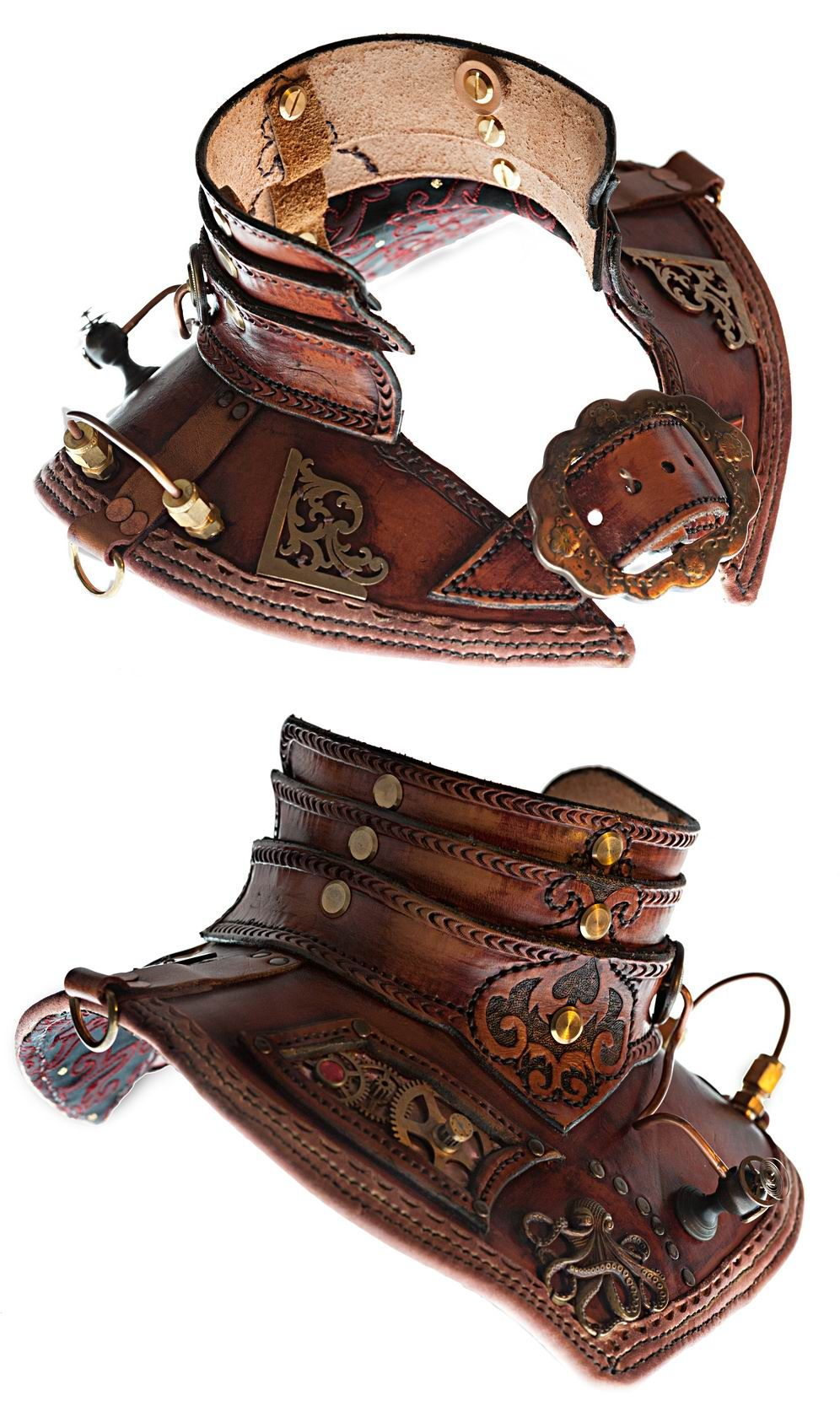 Victorian Steampunk Leather