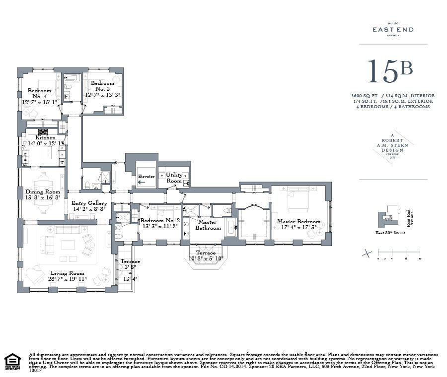Robert A M Stern S New Upper East Side Condos Start At 4 5m Floor Plans Vintage House Plans New York Apartments