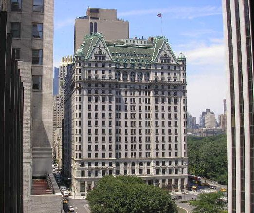The Plaza Hotel oh geez if there is one thing i WILL do before I die, it will be to spend one night here!