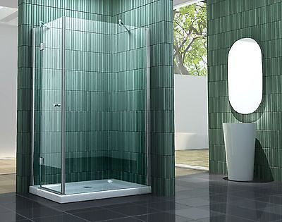 SILLS 120x100 cm Glas Duschkabine Dusche Duschwand