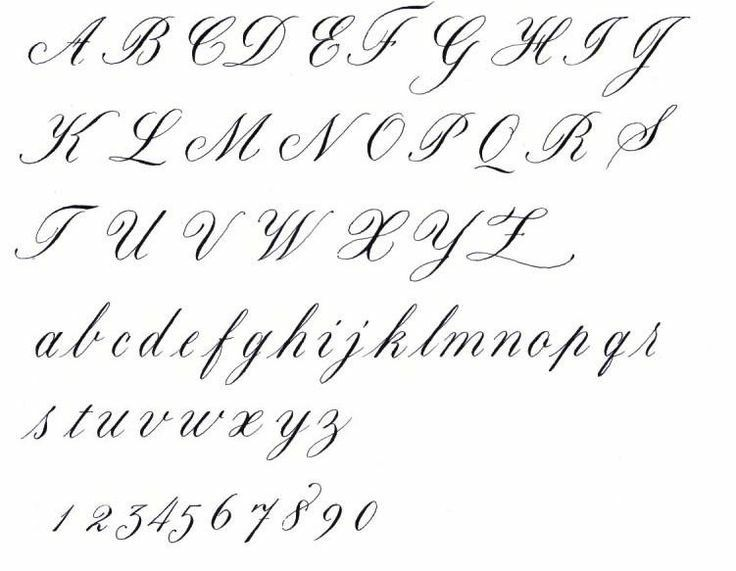 Pin by chelsea bonetti on Typography Cursive calligraphy