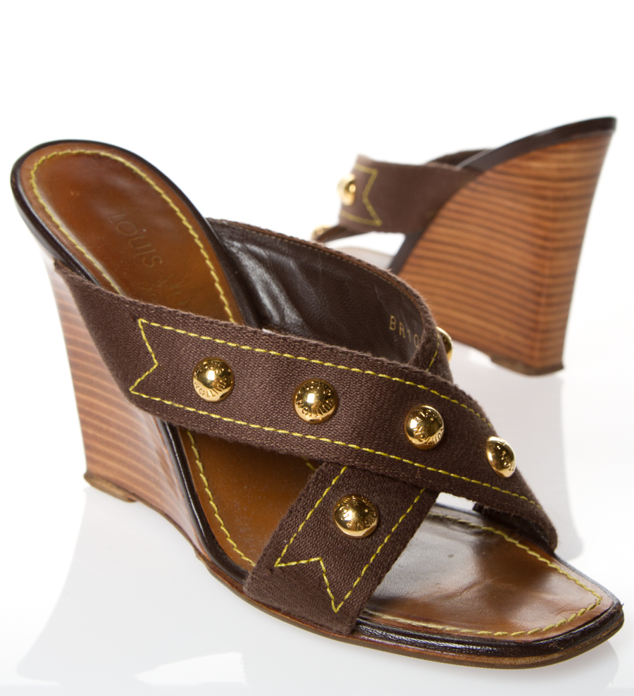 Occasion - Wedge sandalsLouis Vuitton