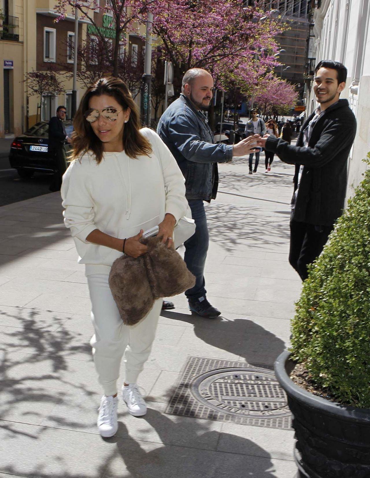 Eva Longoria EvaLongoria and Jose Antonio Baston Arrive at Their