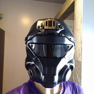 Titanfall airsoft helmet WITH EARS protection | Etsy in ...