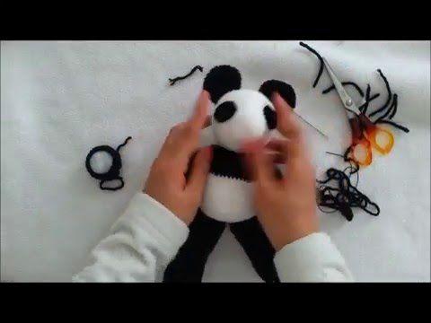 Amigurumi Tutorial Animali : Panda amigurumi tutorial youtube animali panda
