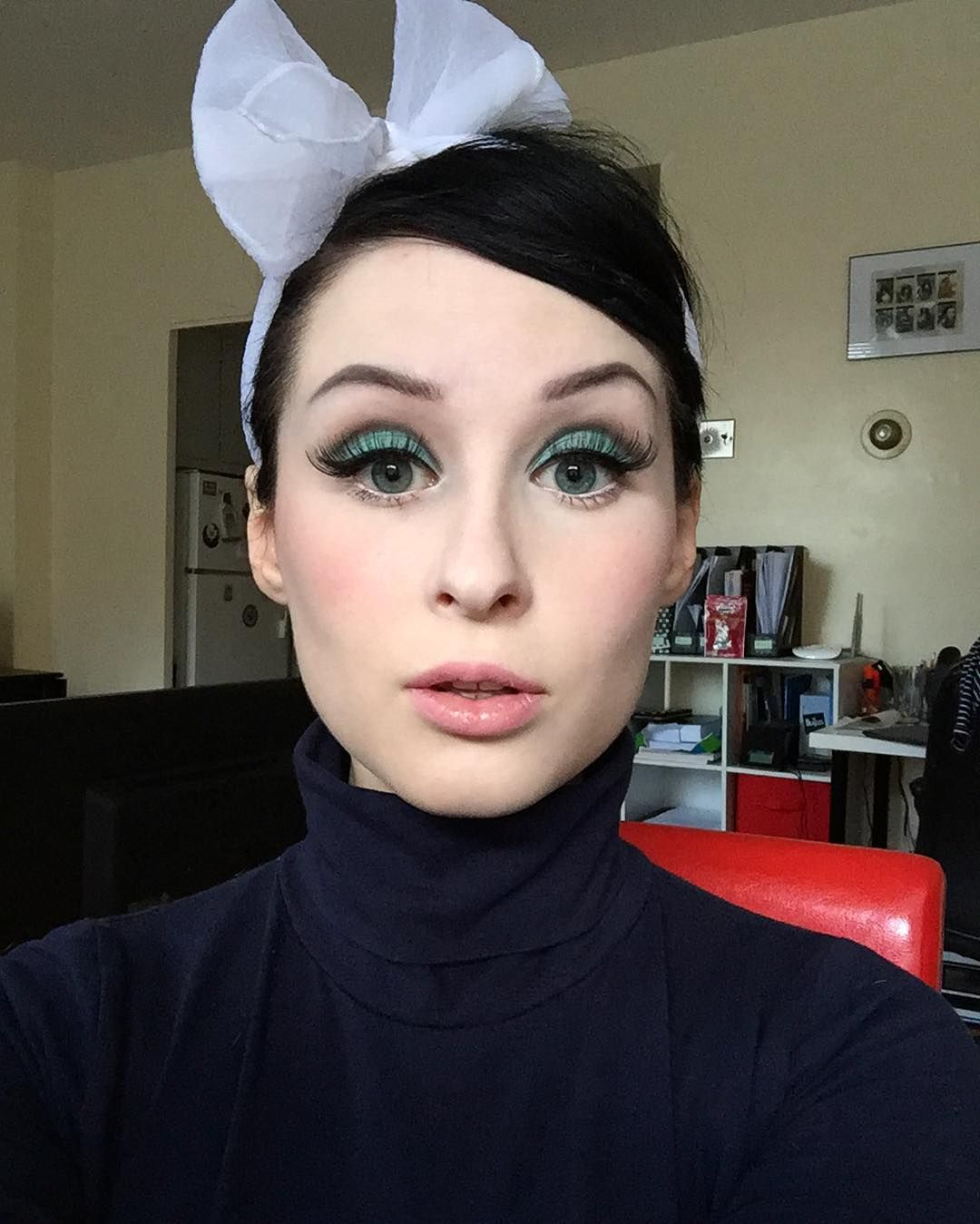 """2,284 Likes, 33 Comments - KirstieMyDear (@kirstiemydear) on Instagram: """"Created this 60s-inspired look using some of the tips from @plexusbooks """"Hollywood Secrets"""" book by…"""""""