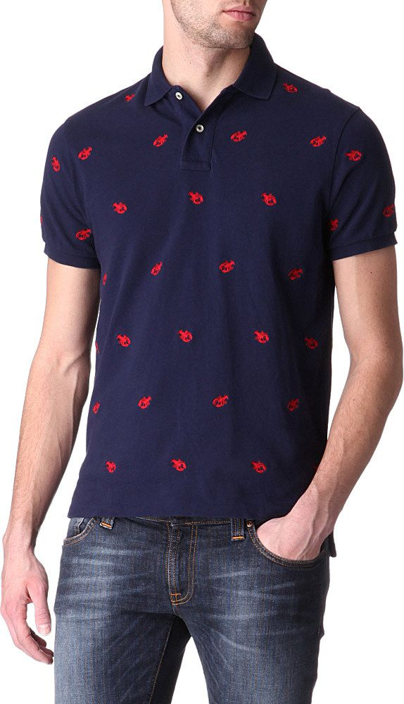 Polo Ralph Lauren Embroidered Lobster Polo Shirt