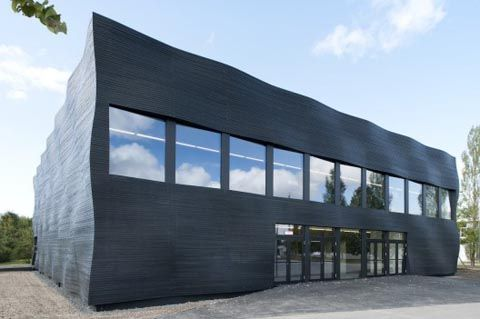 Lecture hall. Technical University Munich, Germany. © Deubzer König & Rimmel Architekten
