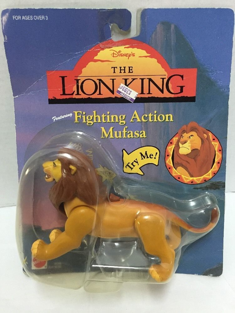 Disney The Lion King Fighting Action Mufasa New In Package
