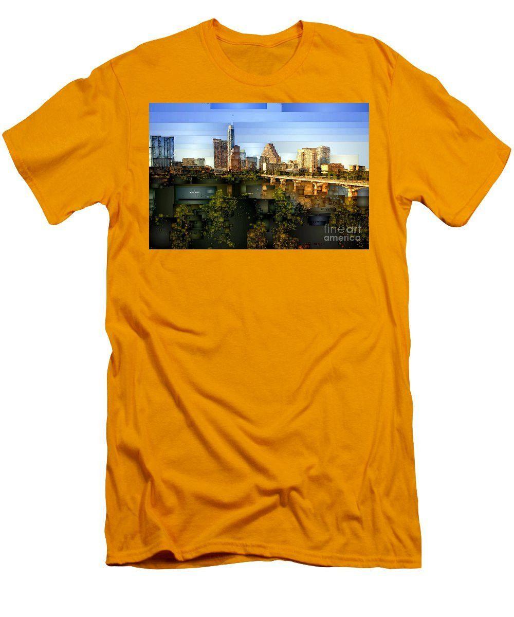 Men's T-Shirt (Slim Fit) - Austin Skyline
