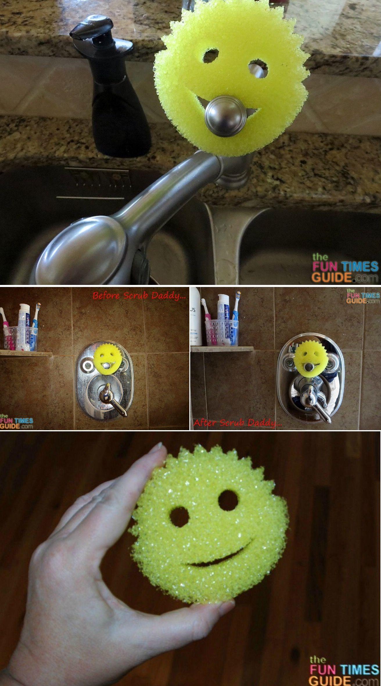Scrub Daddy Uses 50 Creative Ways To Use A Scrub Daddy Sponge Scrub Daddy Scrub Daddy Sponge Sponge