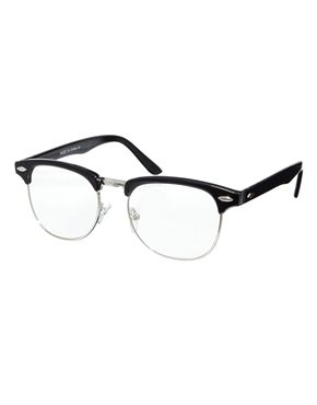 ASOS Clubmaster Glasses with Clear Lens Mens Glasses, Ray Ban Glasses, New Ray  Ban 28ab5d19baf5