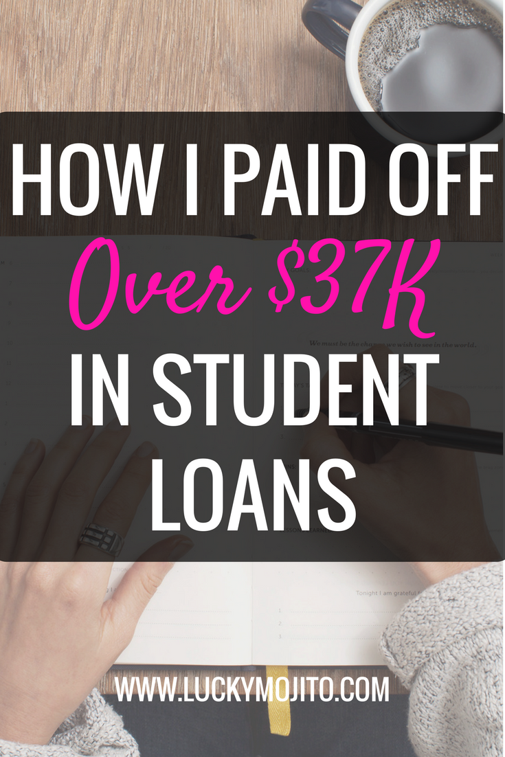 Learn how I paid off my student loans fast and the mistakes that I made to avoid. Even if you don't have student loans these tips still apply to debt in general. Get your debt-free life soon. #studentloans #debt #paid #debtfree #college