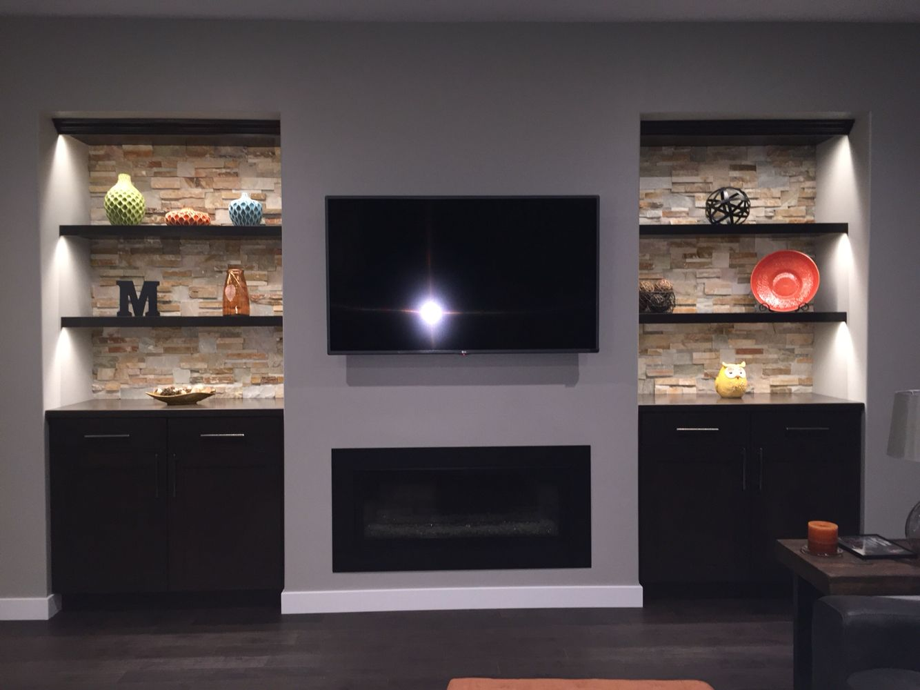 Basement Fireplace Ideas Pin By Angie Woods Mercil On Fireplace Ideas Room