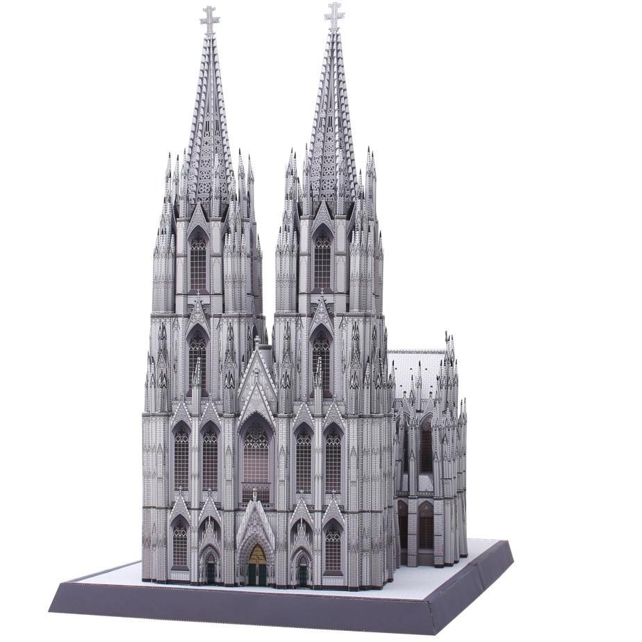 Germany Cologne Cathedral Architecture Paper Craft Building World Heritage Church Belfry Catholic Cathedral Cathedral Architecture Europe Architecture