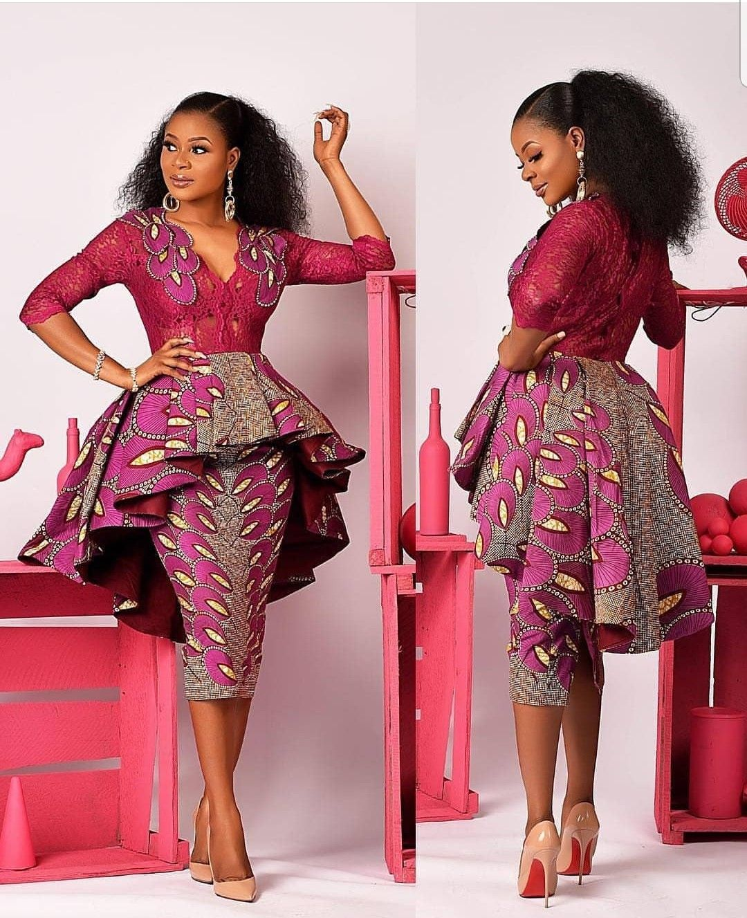 022bbf31a2a9e Short dresses   African style in 2019   African fashion, African ...