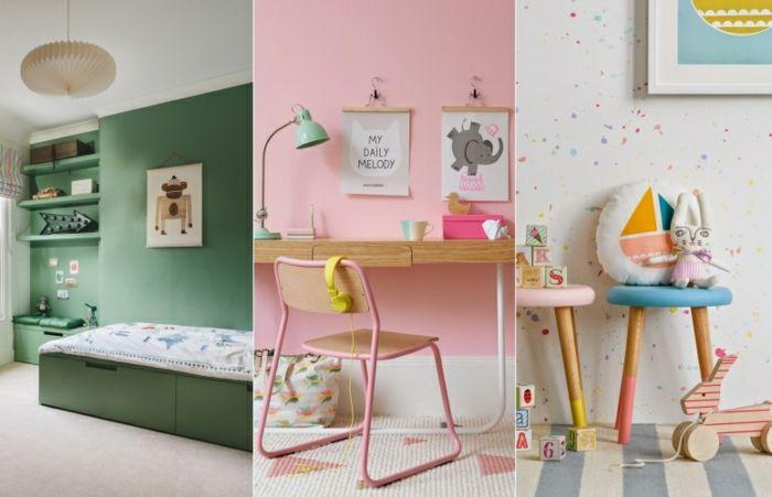 Kinderzimmergestaltung Kinderzimmer Wandgestaltung Kinderzimmer Ideen