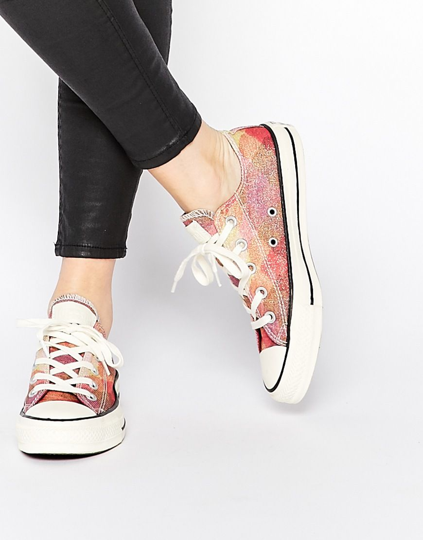 Buy Women Shoes / Converse Missoni Chuck Taylor All Star Low Top Trainers