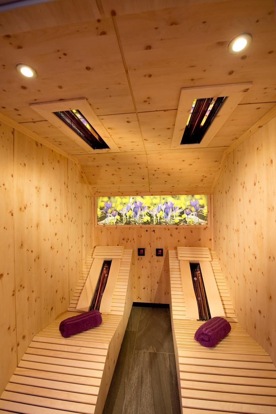 Infrarot Kabine - Hersteller aus Tirol - Eberl Sauna
