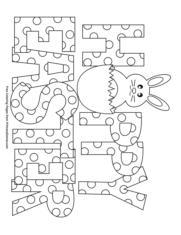 easter alphabet coloring pages - photo#21