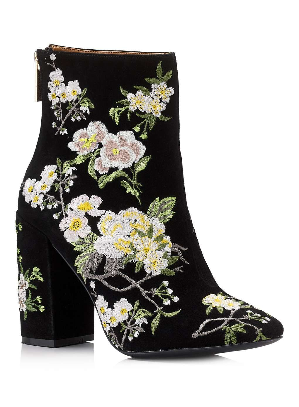 ATHENA Floral Embroidered Boot