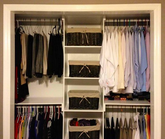 Do it yourself closet modifications