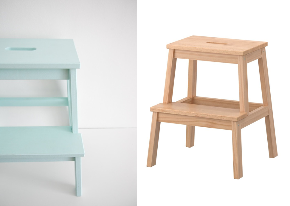 customiser un marche pied ikea bekv m petite d co. Black Bedroom Furniture Sets. Home Design Ideas