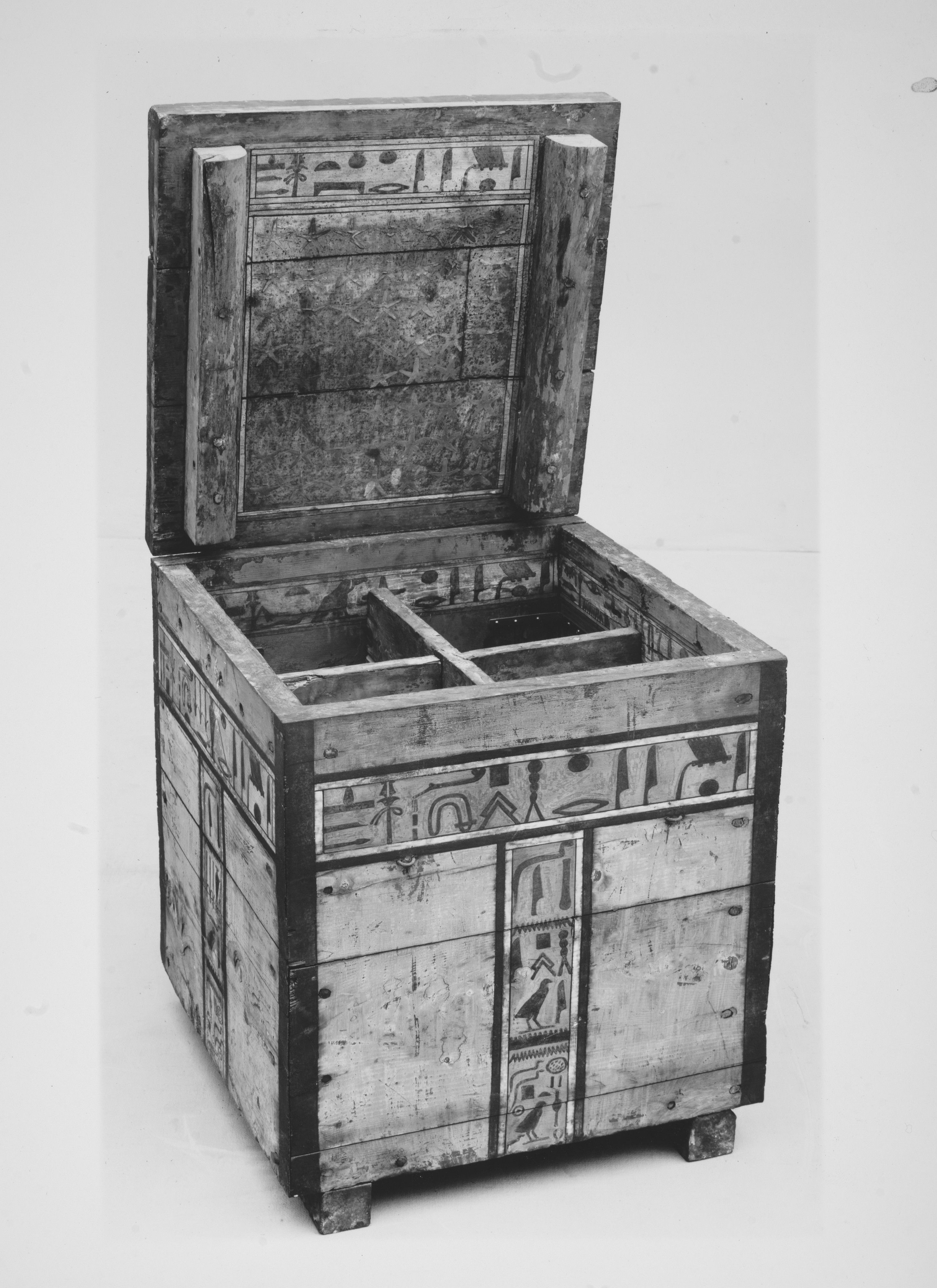 Egyptian Canopic Jar Chest have always wanted to recreate for end
