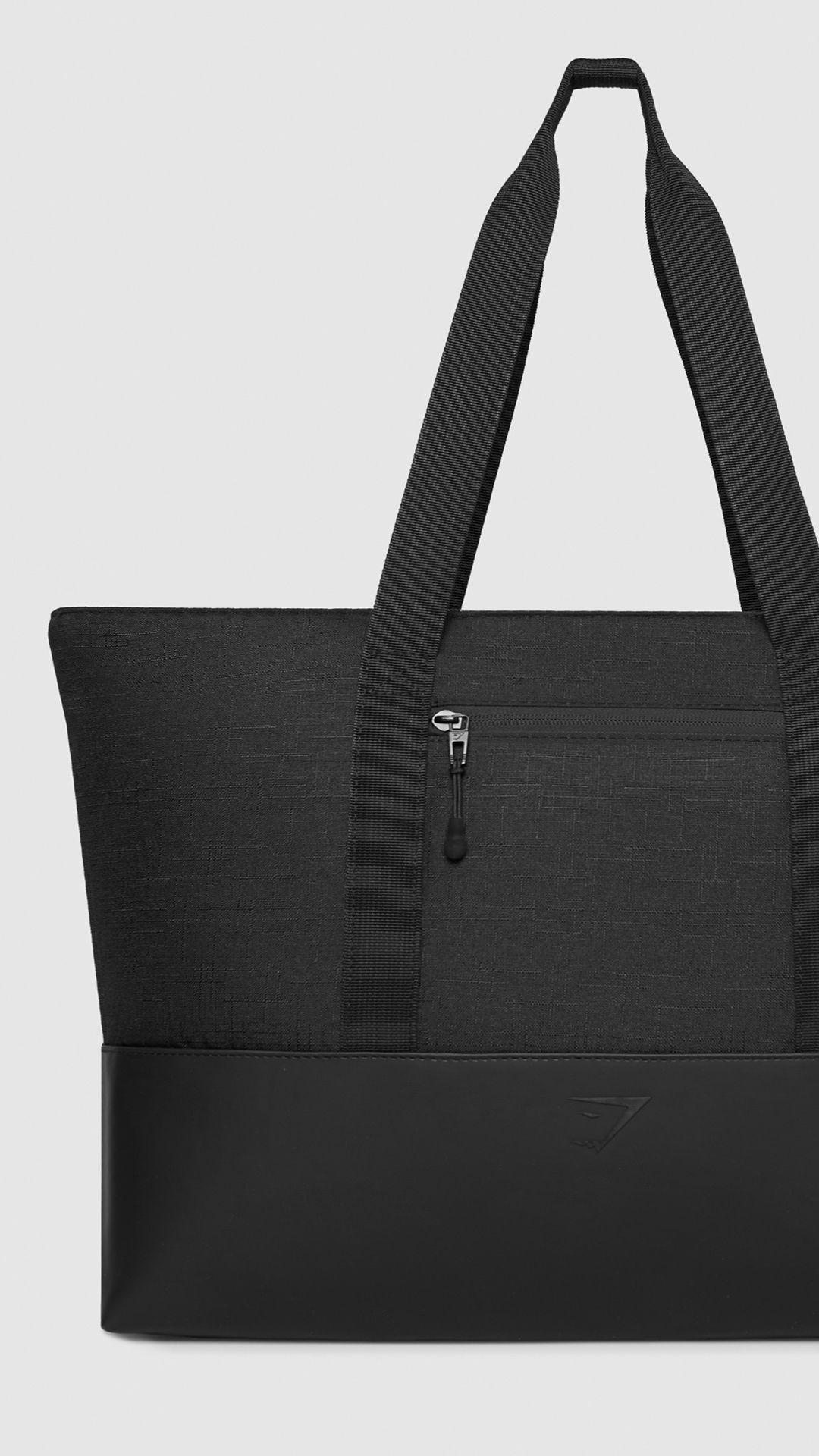 Gymshark Tote Bag - Black  9262f64ffb199
