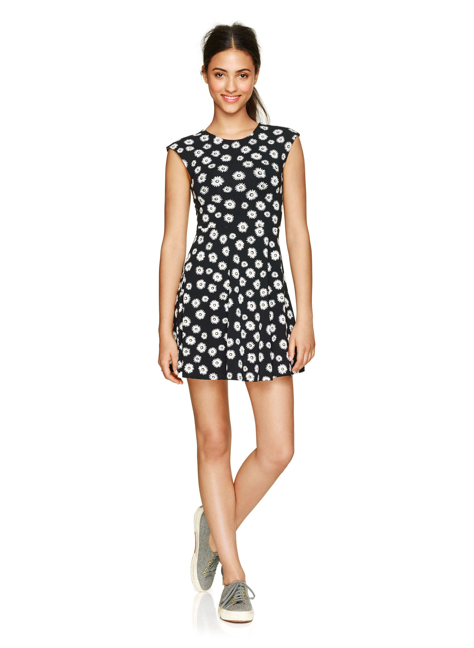 a2d4dbf5a28 Flirty stretch cotton jersey dress with a unique cut-out in back ...
