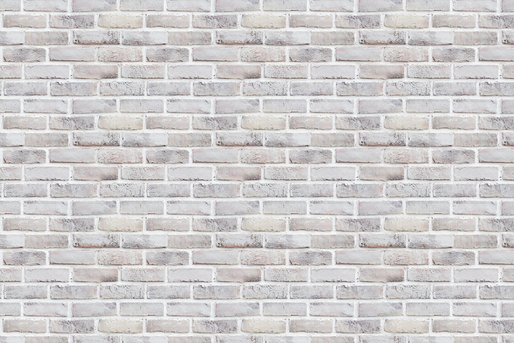 Brick Silver textured wallpaper for bedroom...LOVE IT