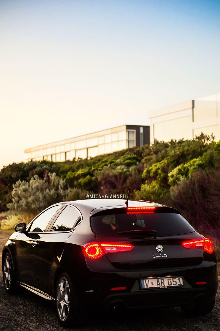 Alfa Romeo Giulietta in sparkling black  Quite possibly the