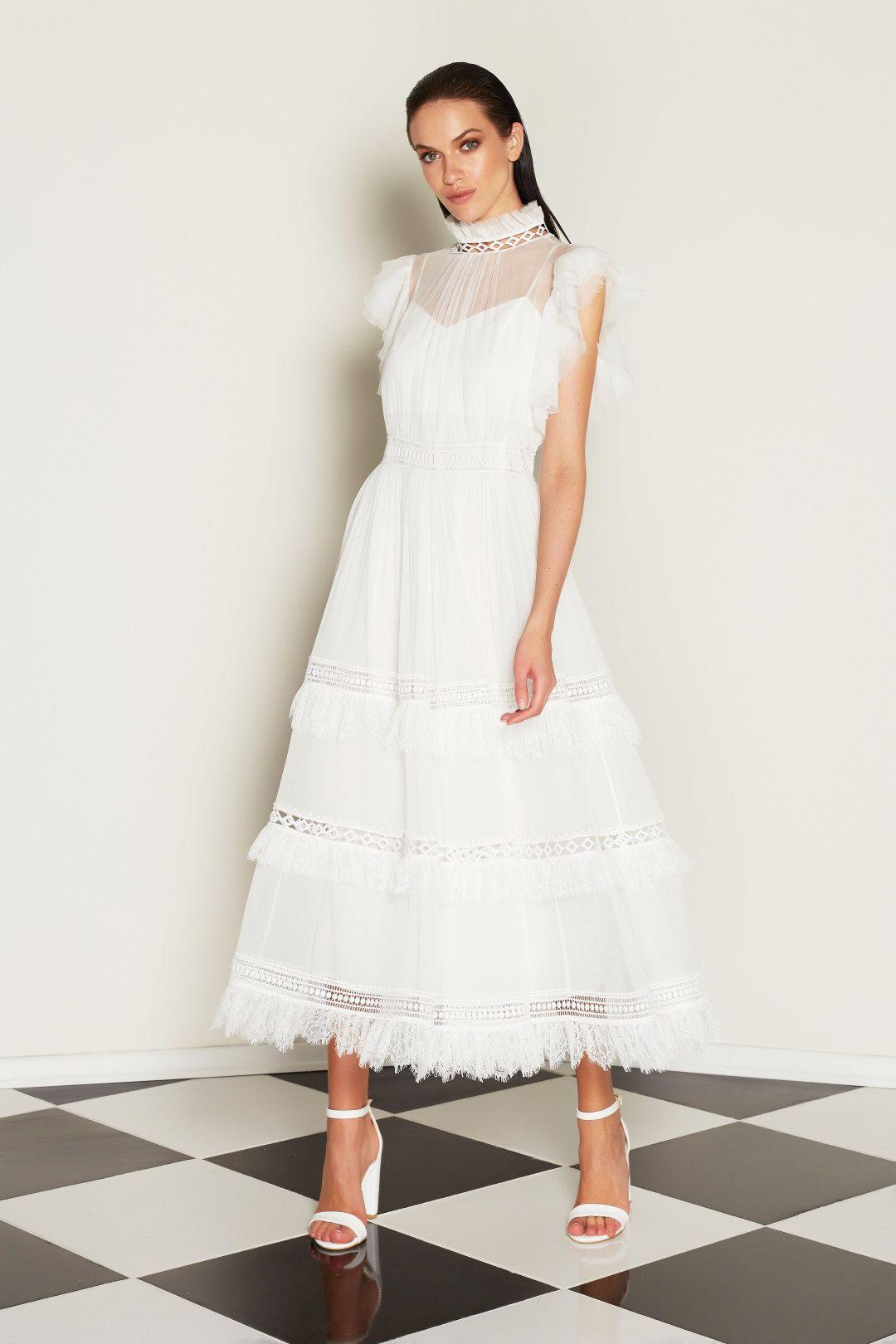 COPURS LONDON - Stella Beyaz Elbise | Davet çok elbisem yok | Dressy ...